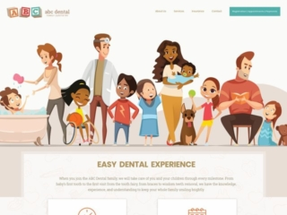 ABD Dental web design