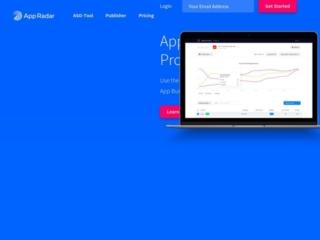 App Radar web design
