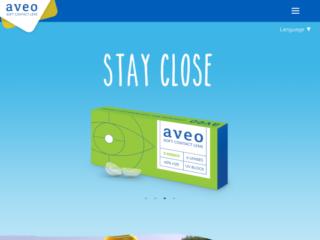 AVEO Vision web design