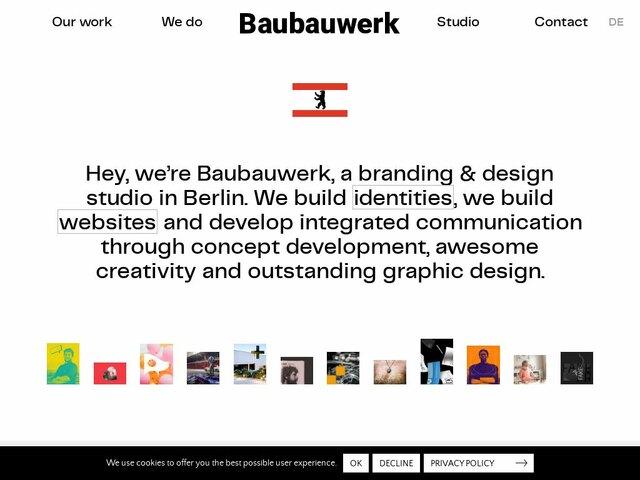 Baubauwerk web design