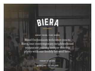Biera web design