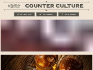 Bigelow Blog web design