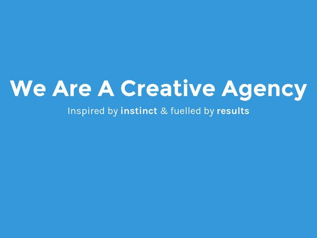 BONE Creative web design