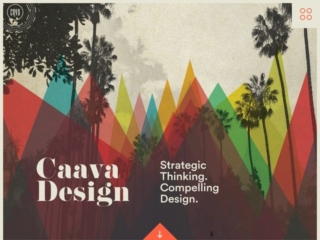 Caava Design web design