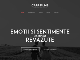 CarpFilms web design