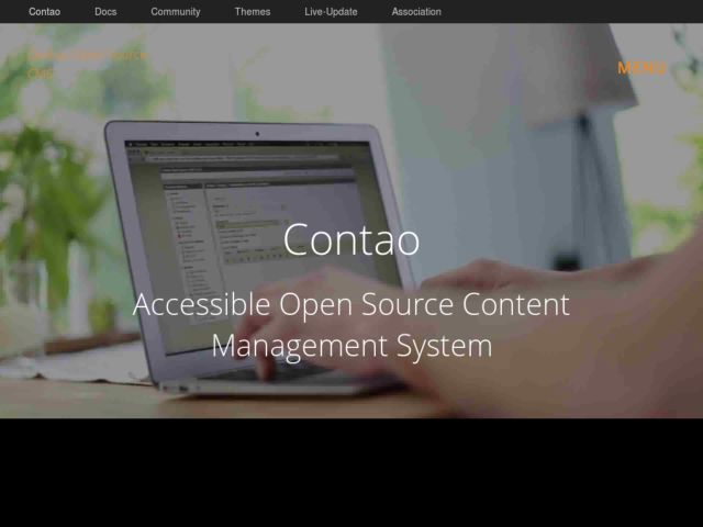 Contao web design