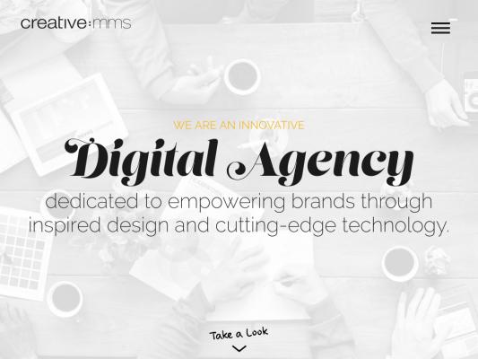 CreativeMMS web design