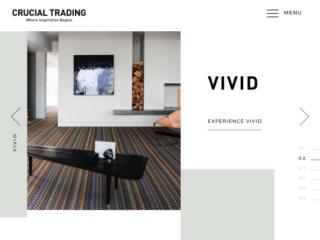 Crucial Trading web design