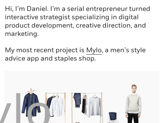 Daniel Eckler web design
