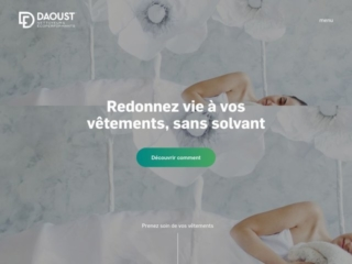 Daoust Nettoyeurs Écoperformants web design
