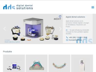 digital dental solutions web design