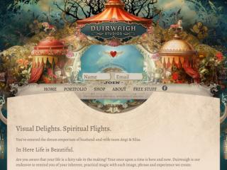 Duirwaigh Studios web design
