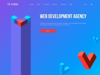 F5 Studio web design