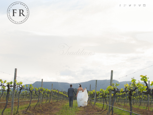 Front Row Photography web design