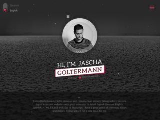 Goltermann.Design web design