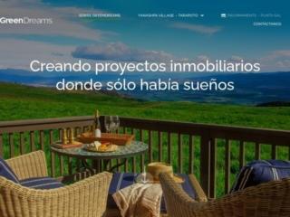 Green Dreams web design