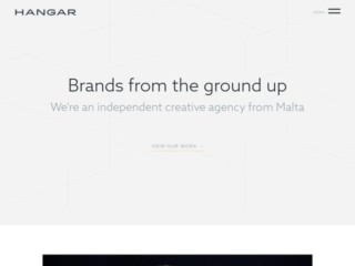 Hangar.co web design