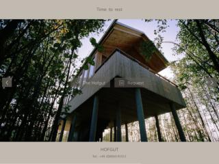 Hofgut web design
