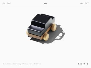 Huzi web design