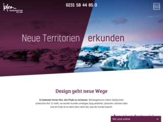 ideen.manufaktur web design
