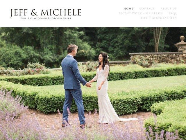 Jeff & Michele web design