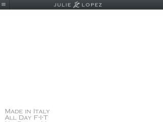 Julie Lopez Shoes web design