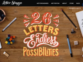 Letter Shoppe web design