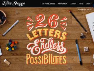 Letter Shoppe web design