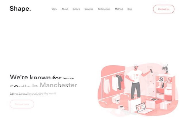MadeByShape web design