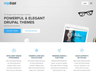 MegaDrupal web design