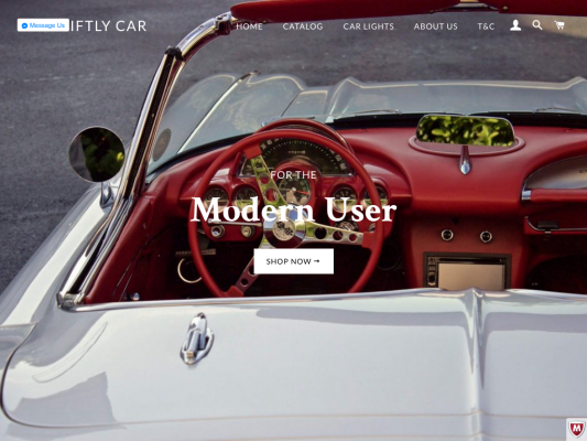 My Swiftly Car web design