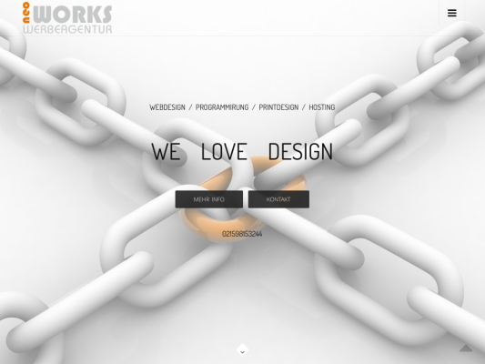 NEO WORKS web design