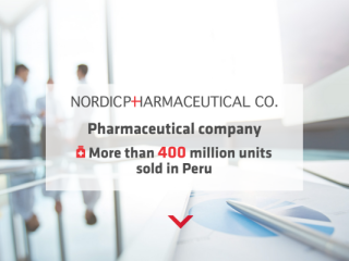 Nordic Pharmaceutical web design