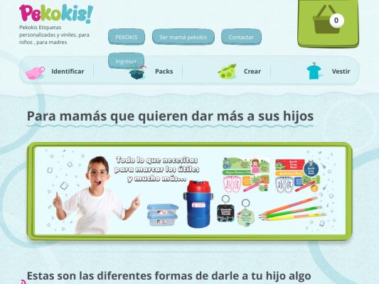 Pekokis web design