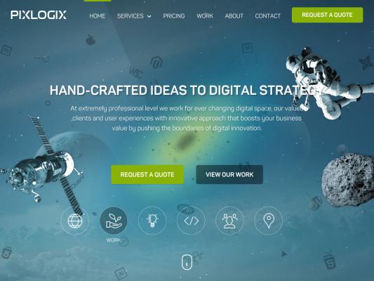 Pixlogix web design