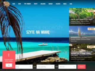 Planet Escape web design