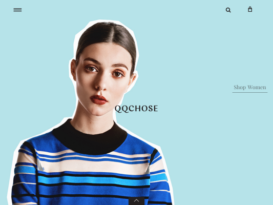 QQCHOSE web design