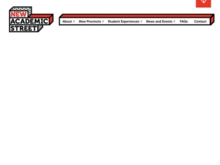 RMIT New Academic Street web design