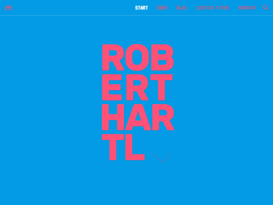 Robert Hartl web design