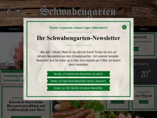 Schwabengarten web design