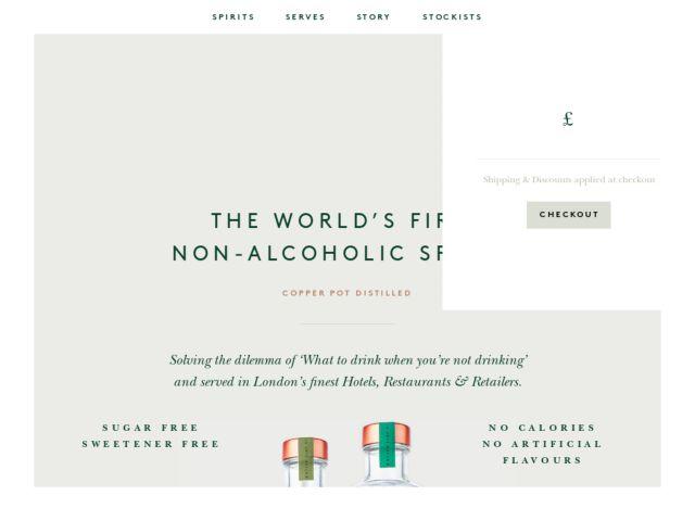 Seedlip web design