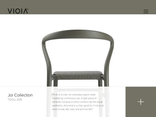 Simone Viola web design