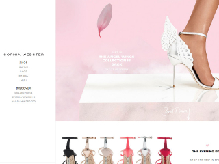Sophia Webster web design