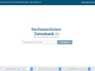 Suchmaschinen-Datenbank web design
