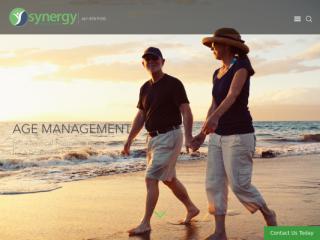Synergy Lifestyle Center web design
