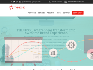 Think360 Studio web design