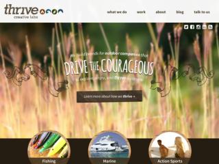 thrive creative labs web design