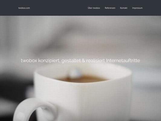 twobox web design