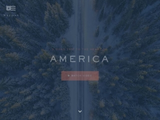 Undivided Nation web design