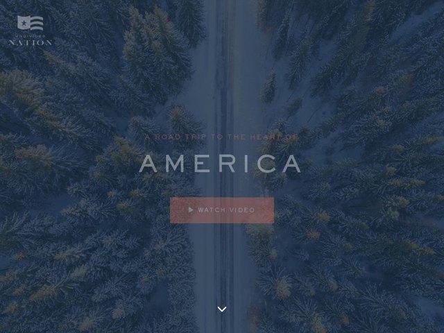 Undivided Nation web design